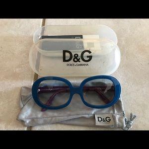 RARE Dolce & Gabbana Oversized Sunglasses